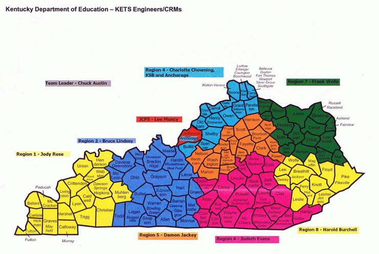 Kentucky Region 1 Images Diagram Writing